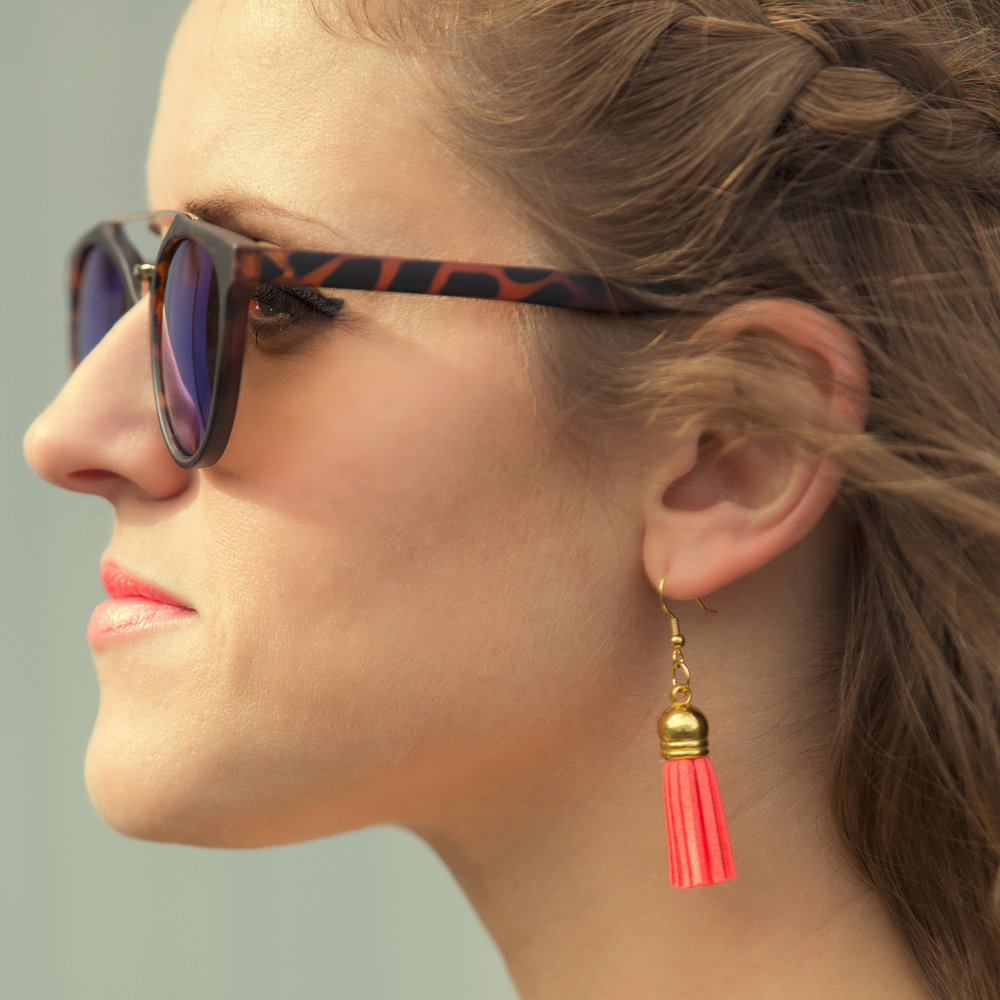 How To Make Tassel Earrings   May 7, 2015