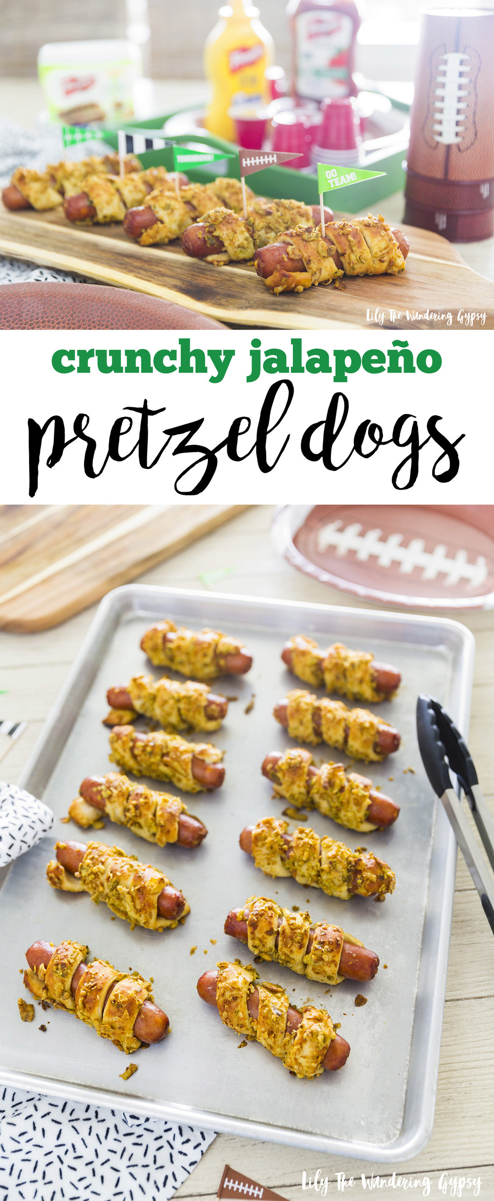 Delicious Crunchy Jalapeno Dogs - perfect for gam