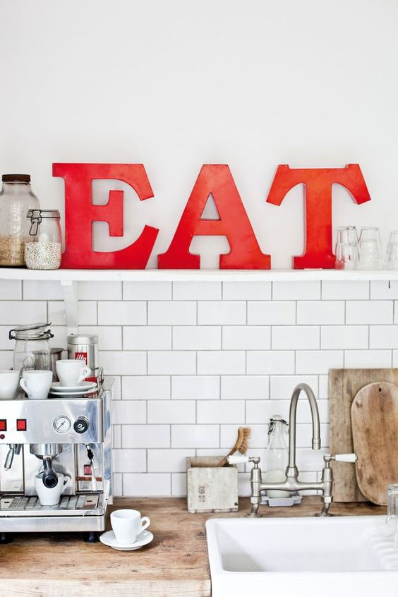 cute red kitchen accessories