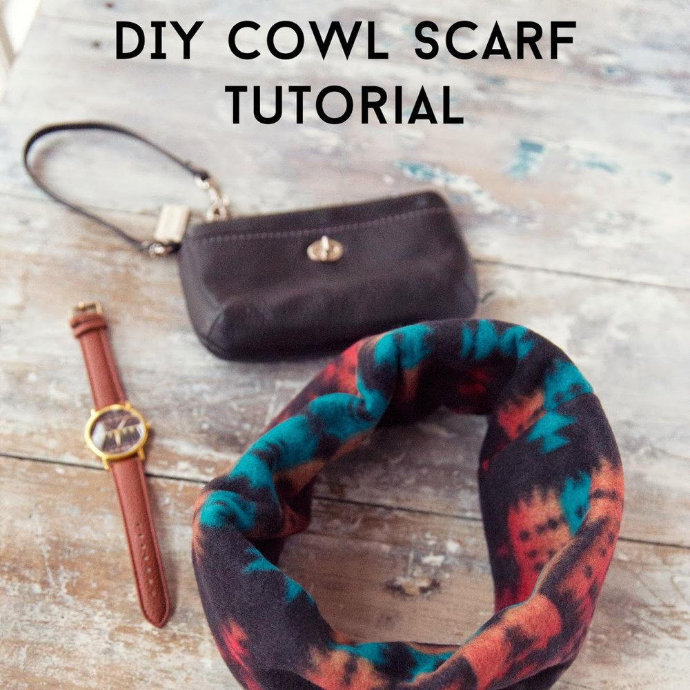DIY Cowl Scarf
