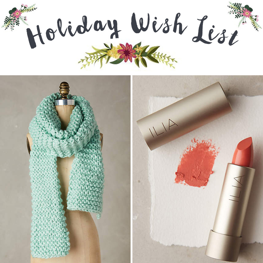 Holiday Wish List - Anthropologie