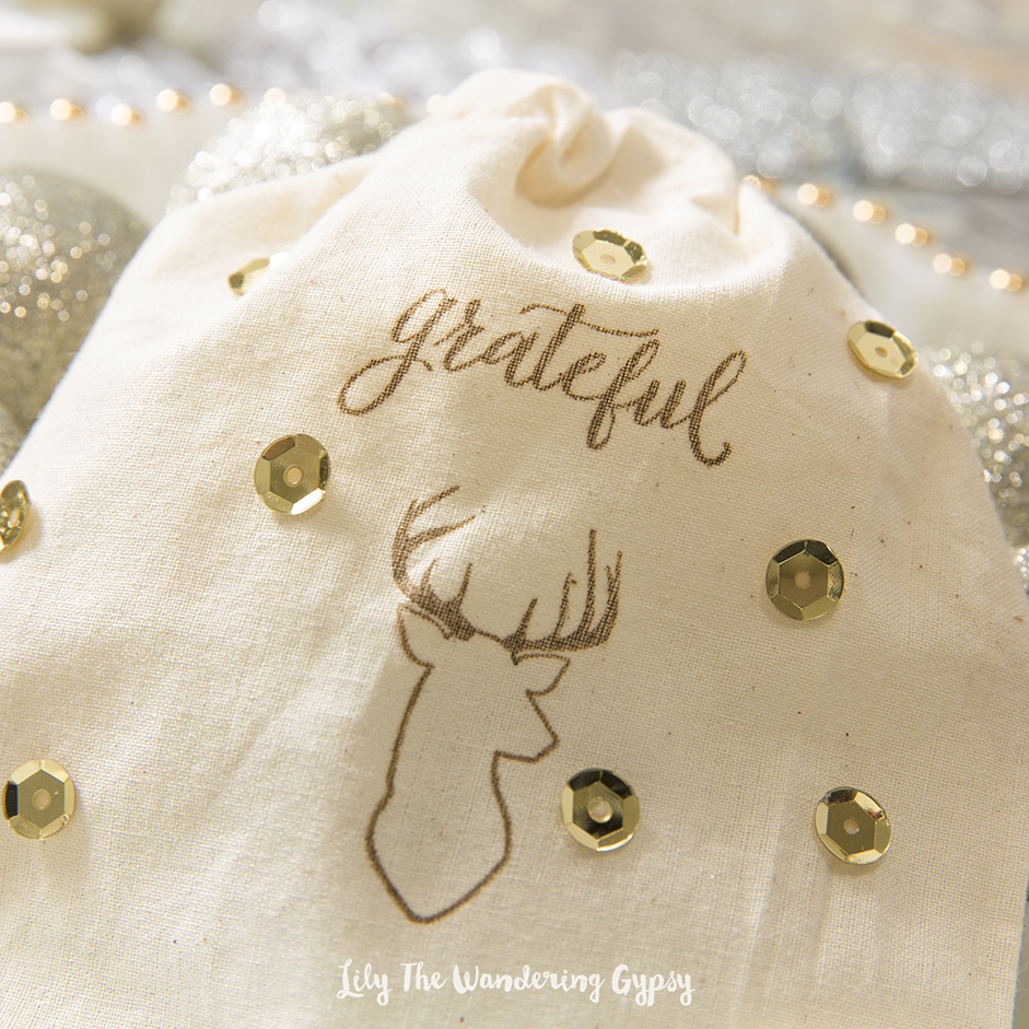 DIY Cotton Gift Bags Dec 13, 2015