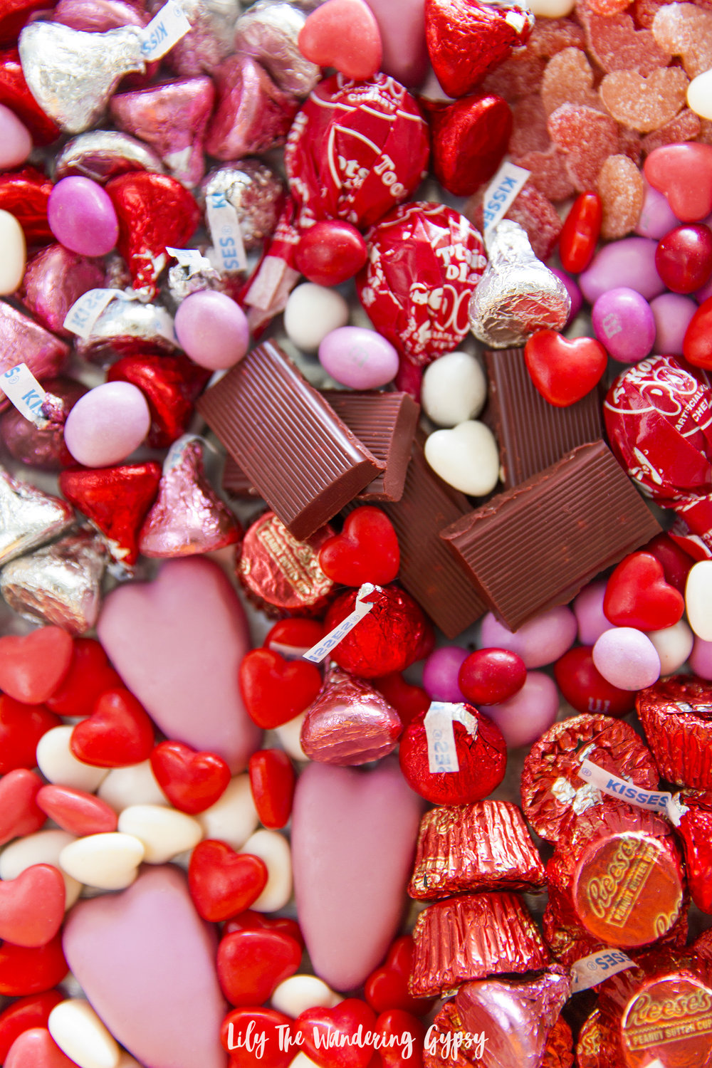 Valentine's Day Candy Board