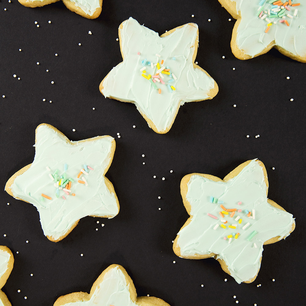 Awesome Sugar Cookies From Scratch!   Dec 31, 2015