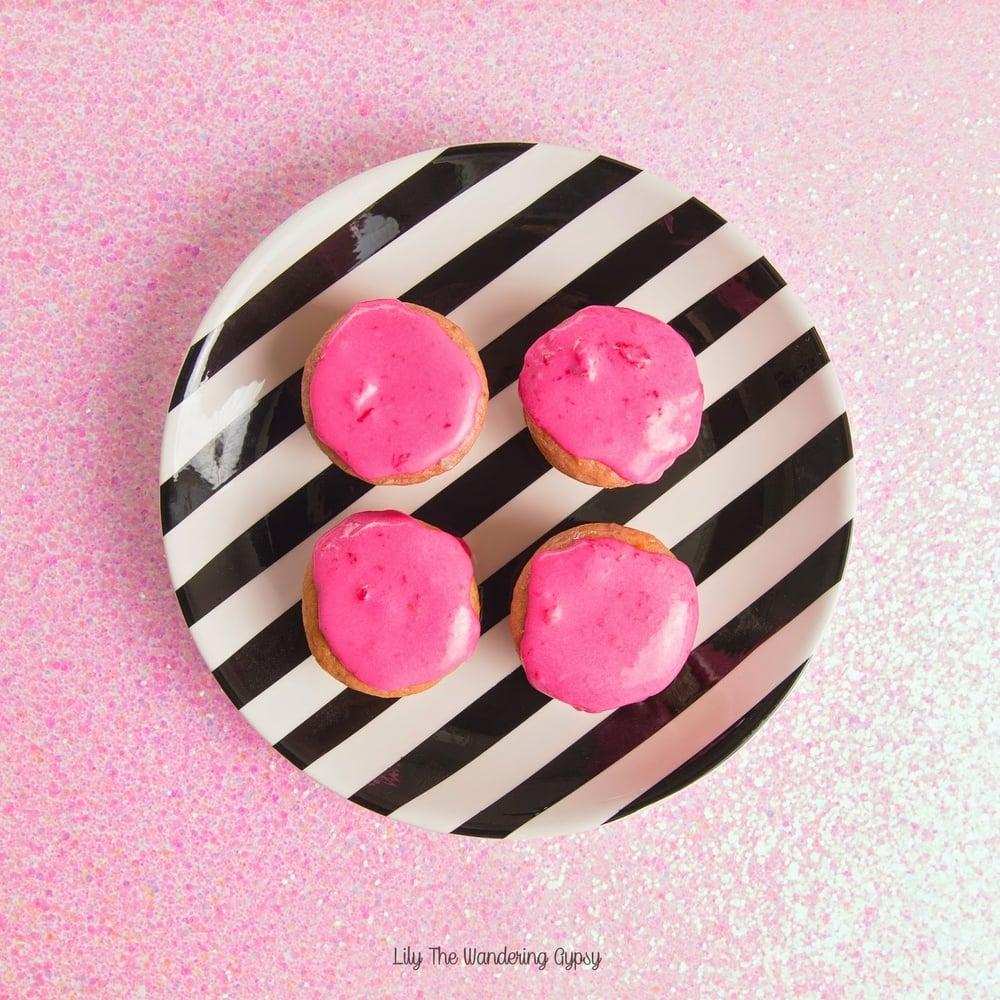 pink muffins