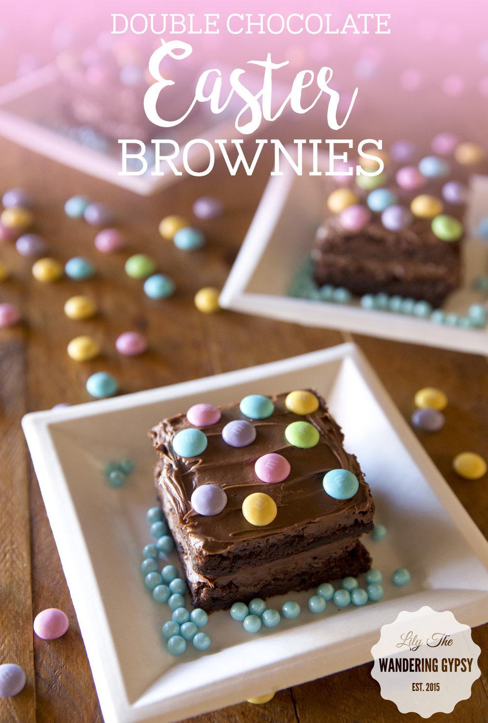 Easter Brownies!