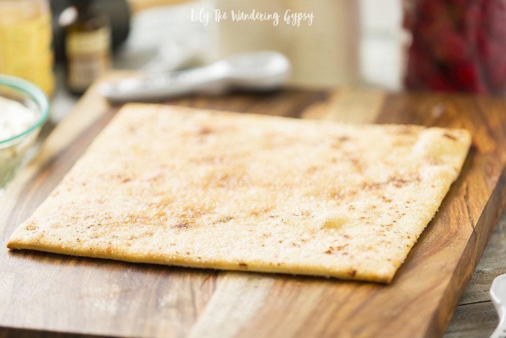 Easy Rustic Fruit Pizza Recipe