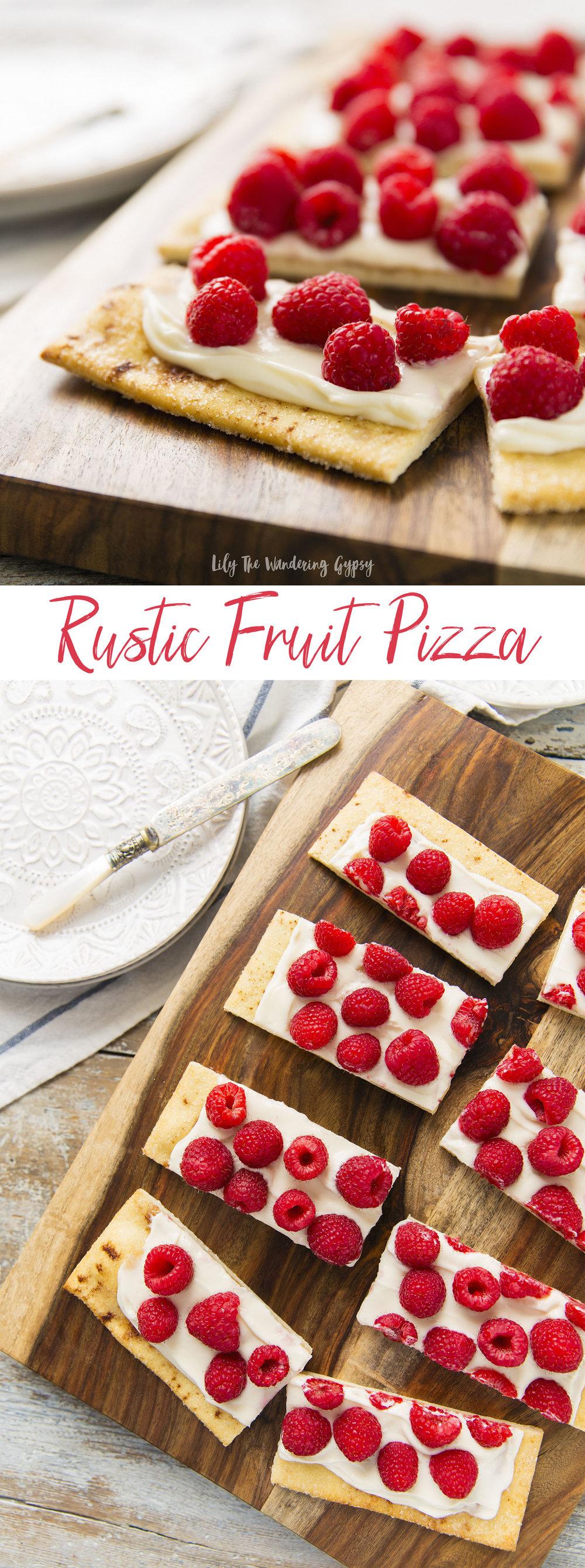 Rustic Fruit Pizza Recipe