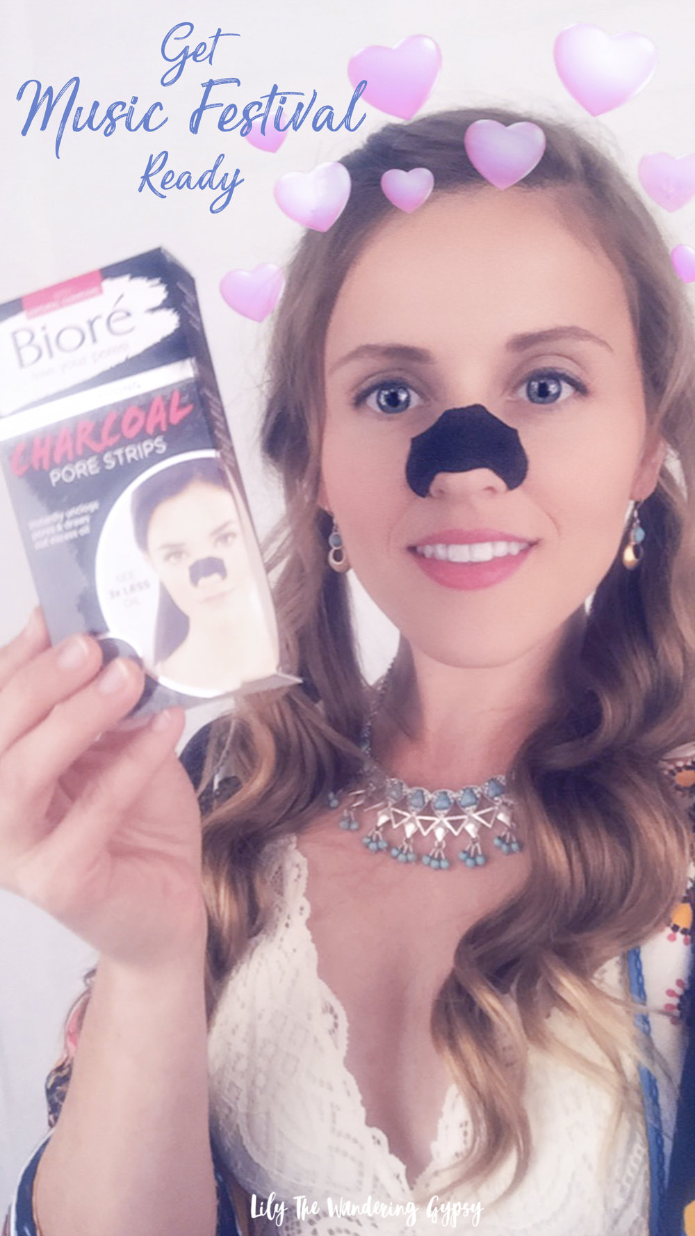 Bioré Deep Cleansing Charcoal Pore Strips at Amazon and Target