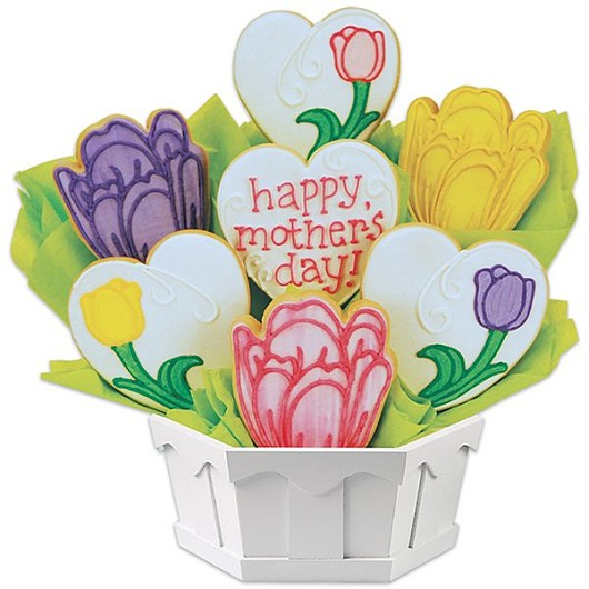 Mother's Day Gift - Flower Sugar Cookie Bouquet