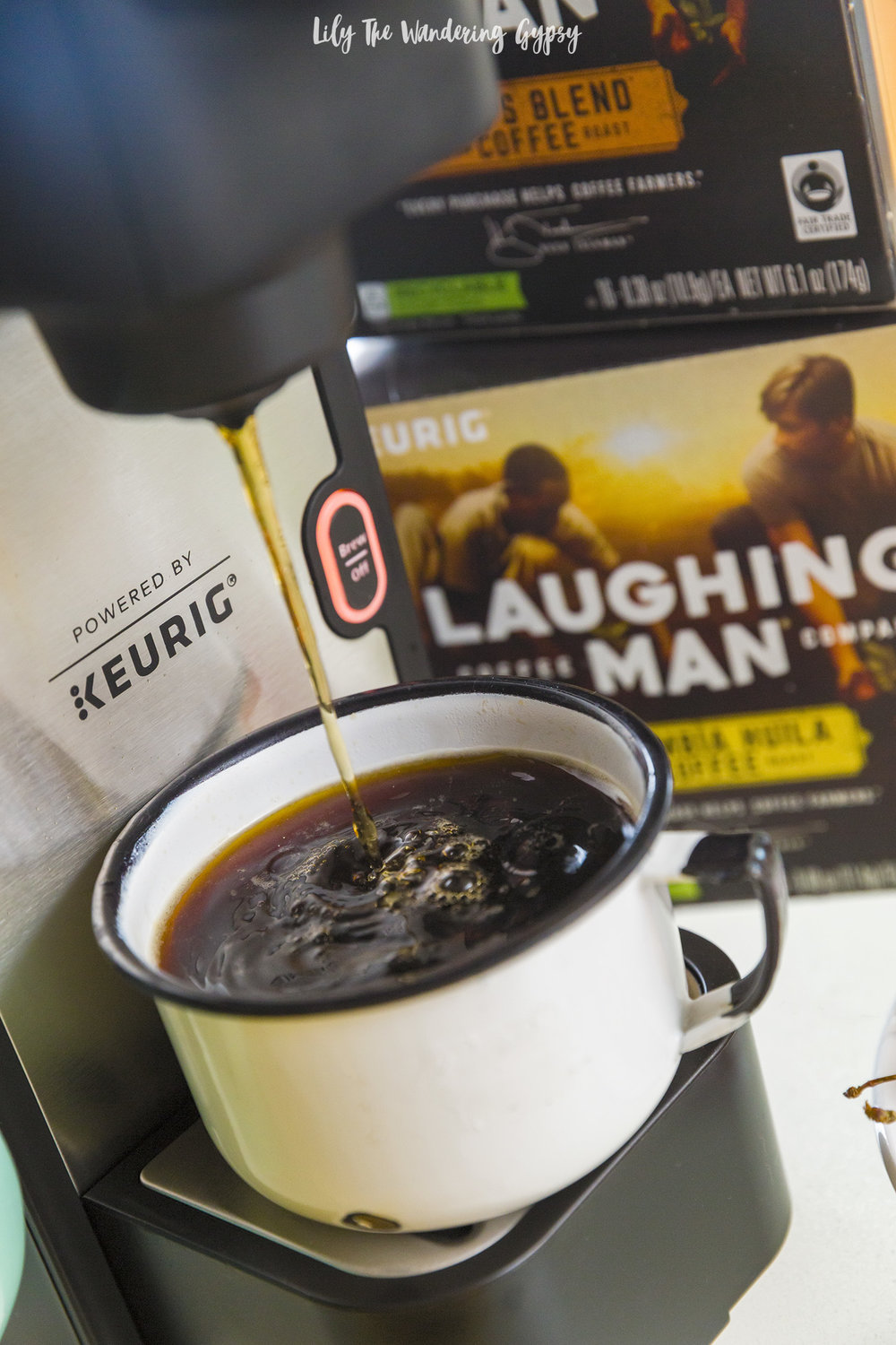 Laughing Man Coffee at Target - #LaughingManCoffee #MakeEveryCupCount #Target