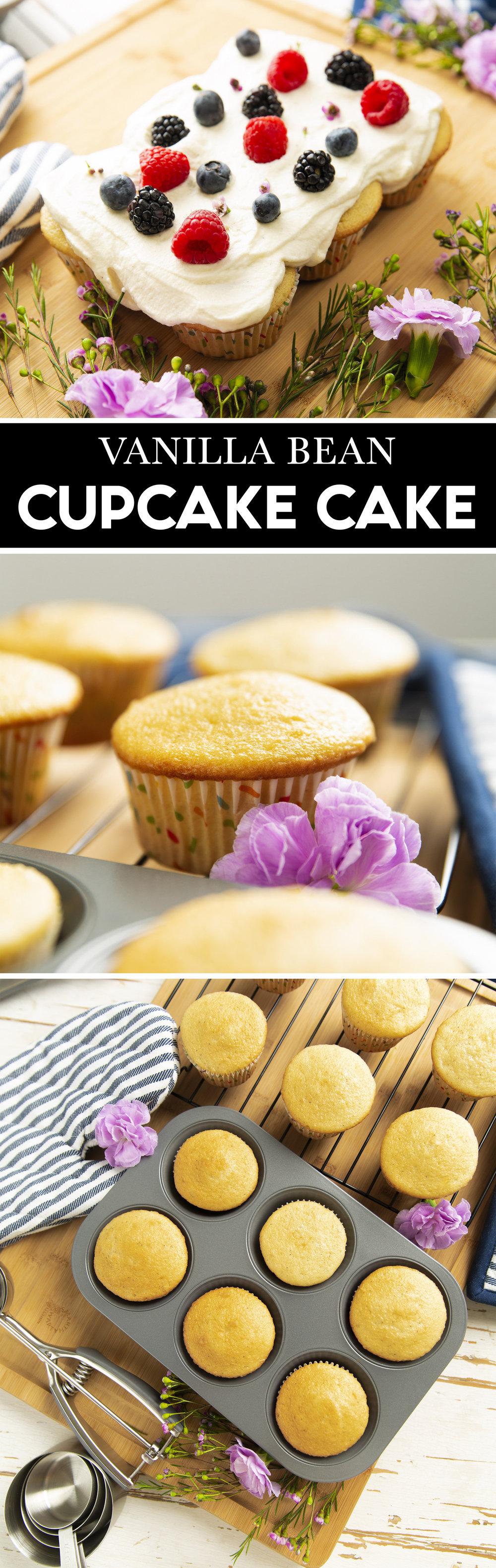 Pull Apart Cupcake Cake Recipe