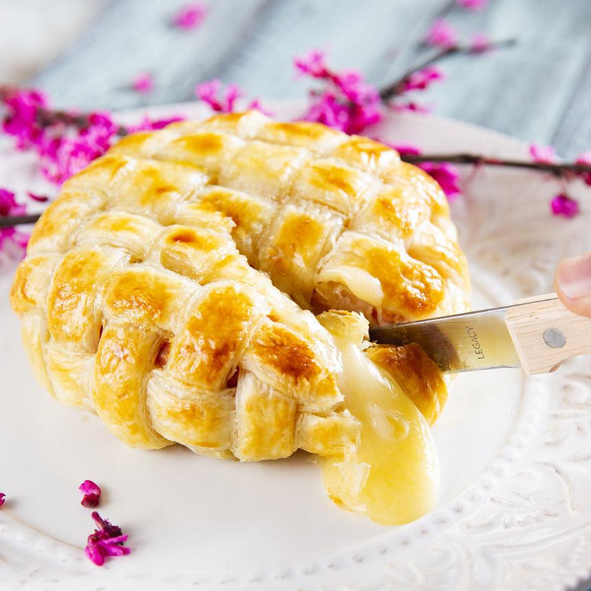 Lattice Weave Puff Pastry and Brie Recipe