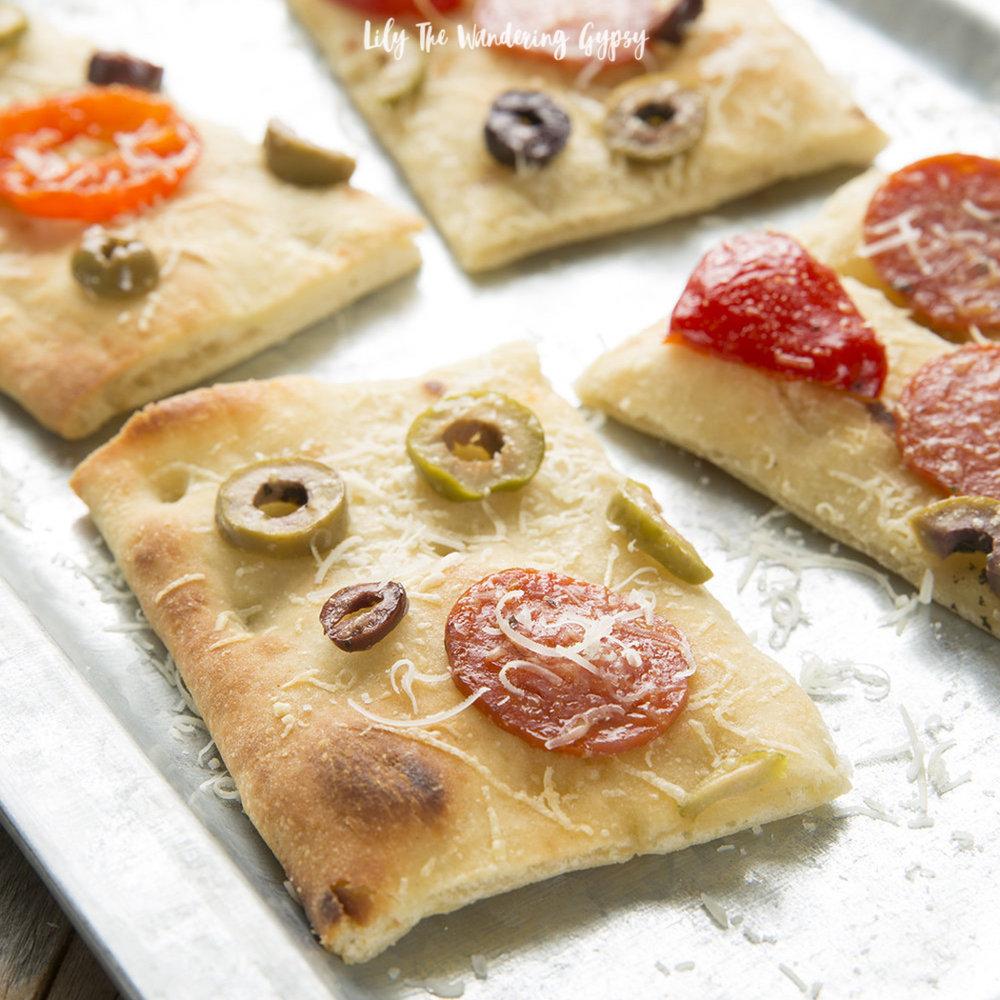 Antipasto Flatbread Recipe