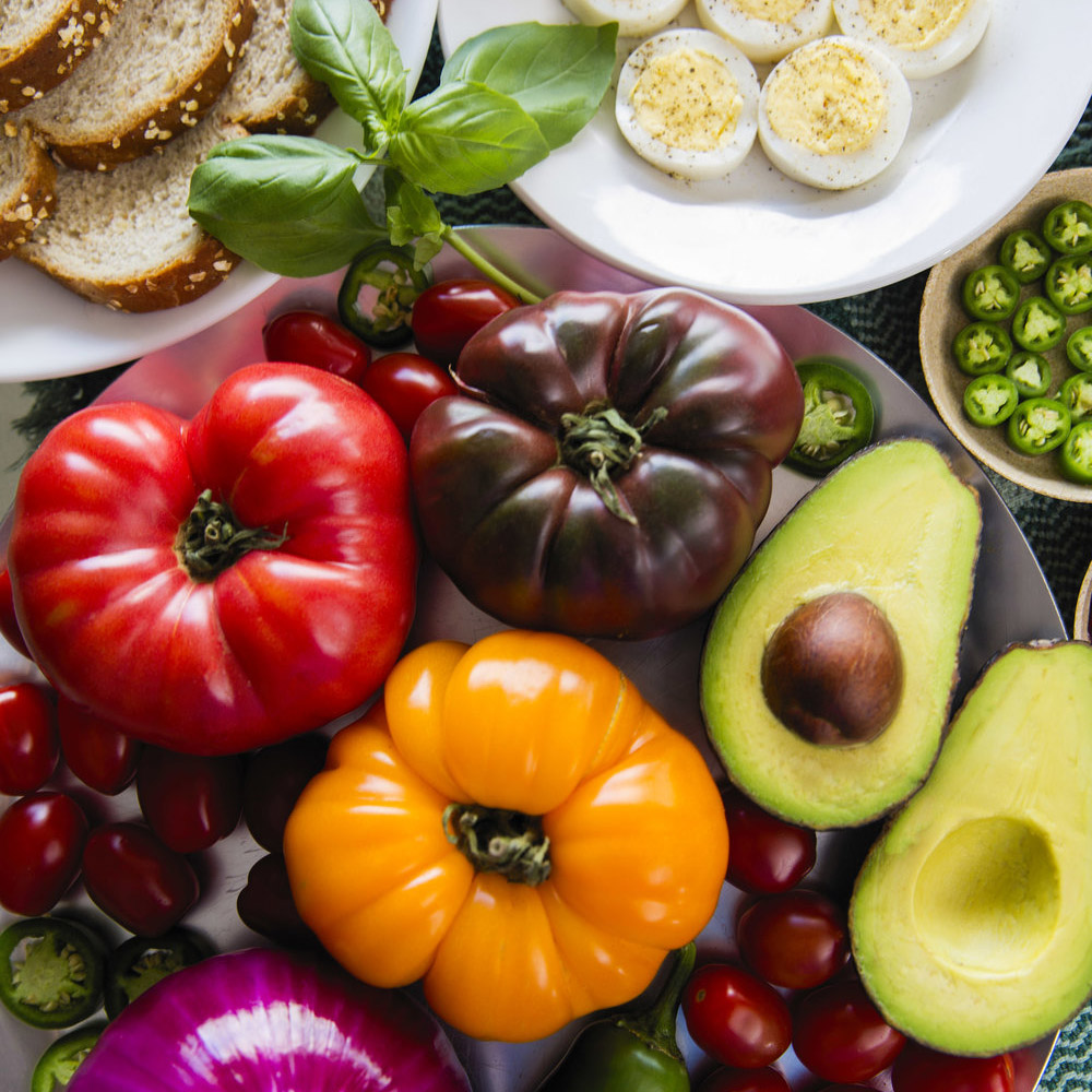 Vegetarian Brunch / Breakfast Idea