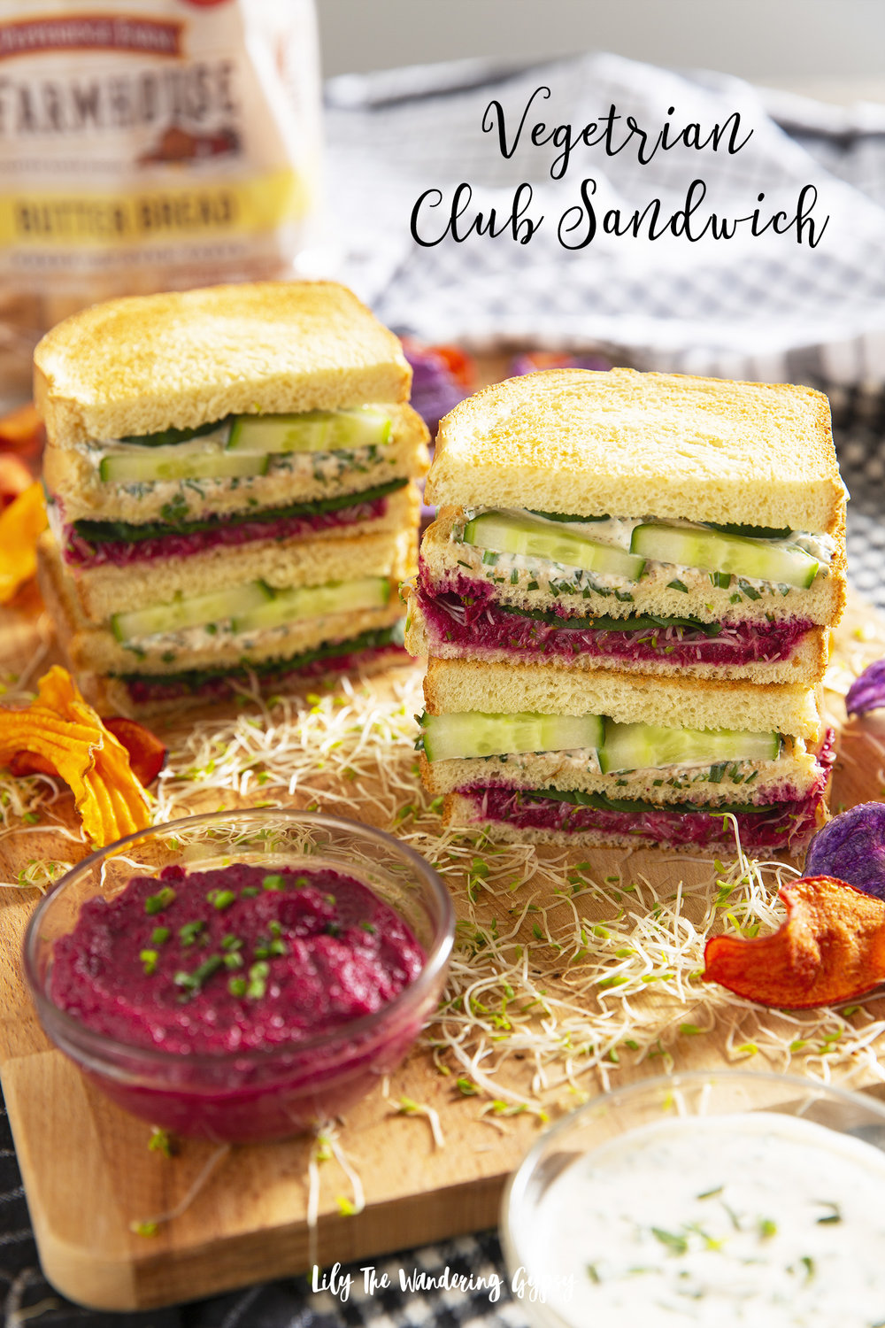 Veggie Lovers' Club Sandwich
