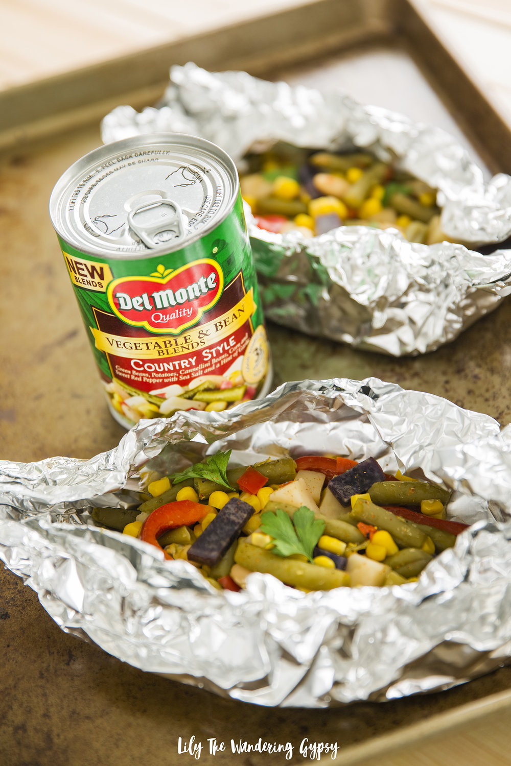 Veggie Foil Packets