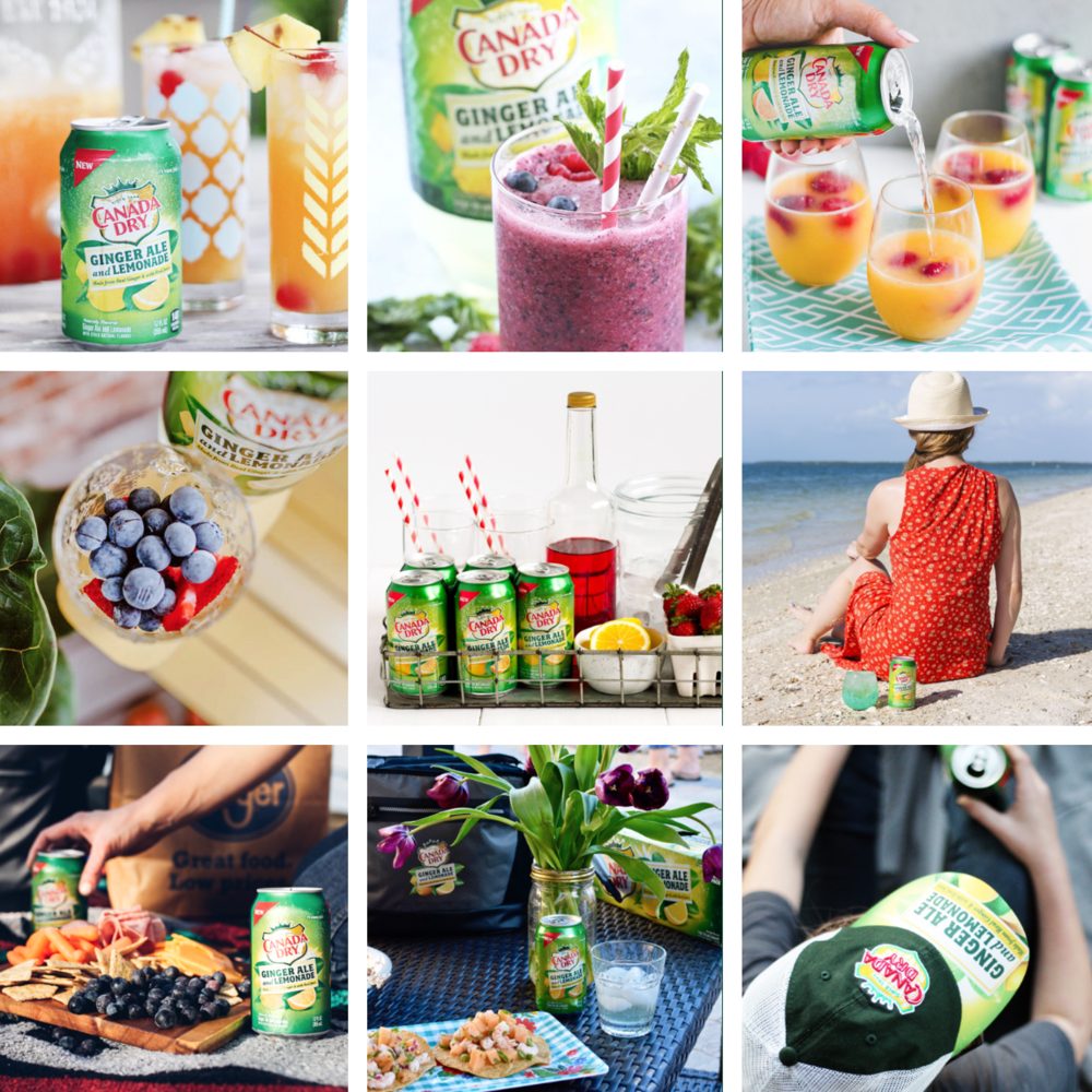 Featured on the Canada Dry Website