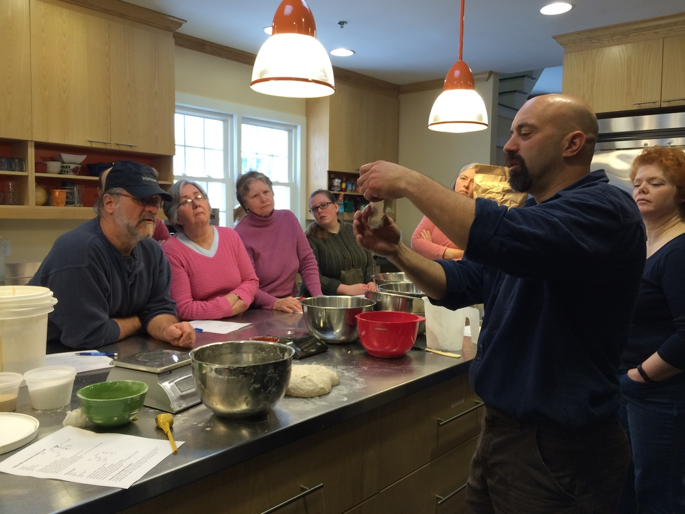 community Bread Baking workshop, march 21, 2015