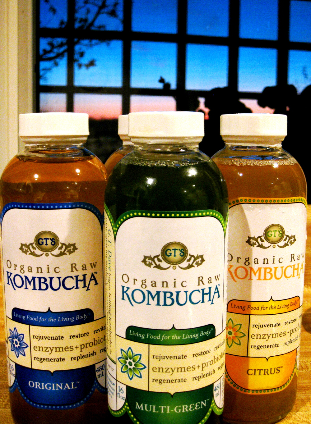 Kombucha can be found at local grocery stores like Publix or Earth Origins.