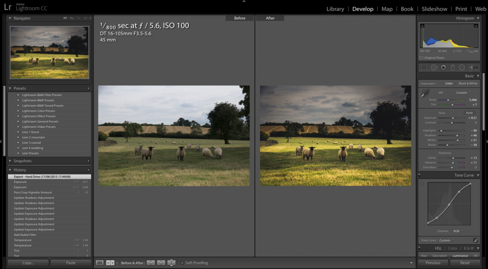 lightroom foundation management processing course screenshot the image project nathan barry