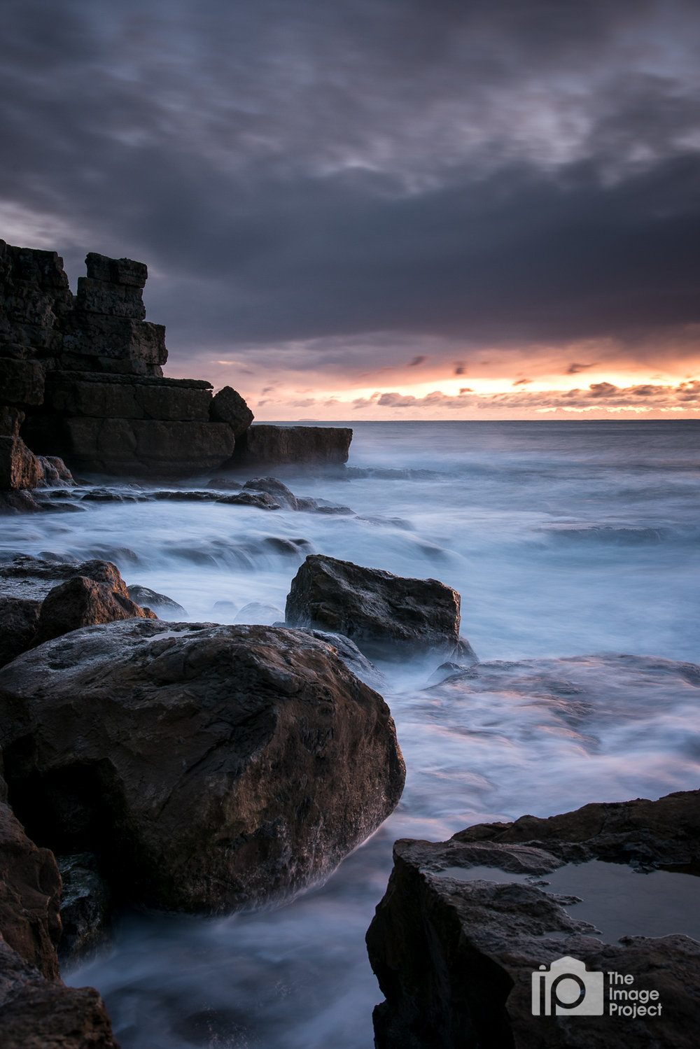 Morning Light at Cove, Dorset