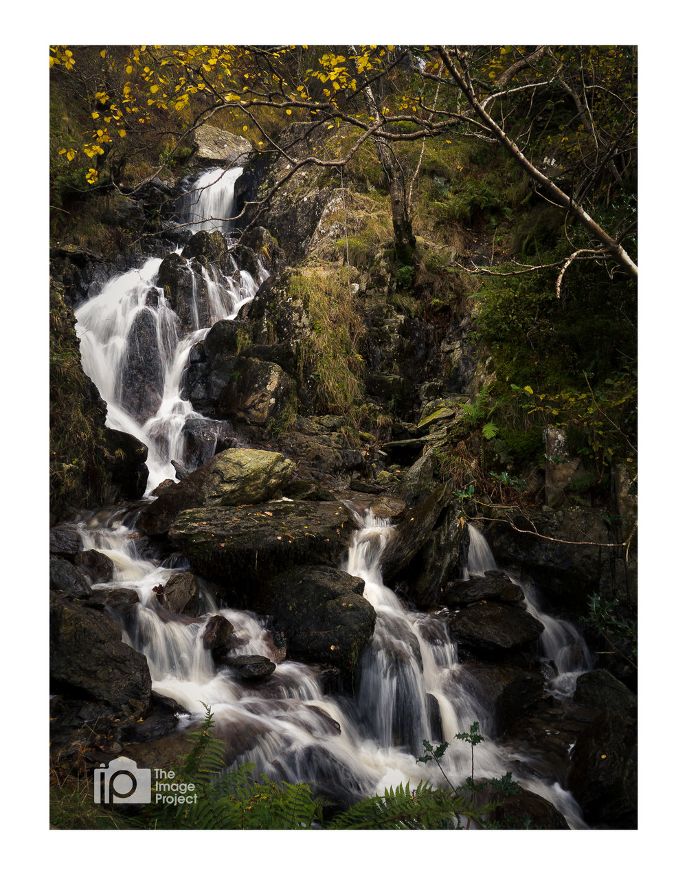 Small falls near Brotherswater in autumn