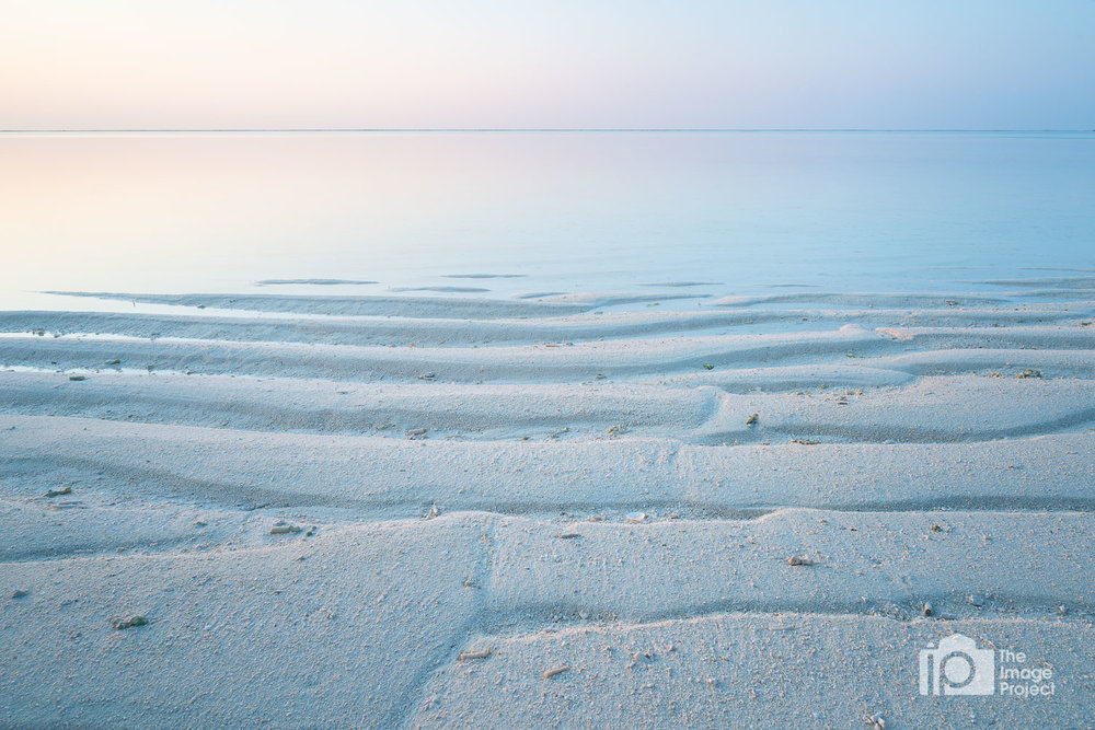 Maldives pale sunrise
