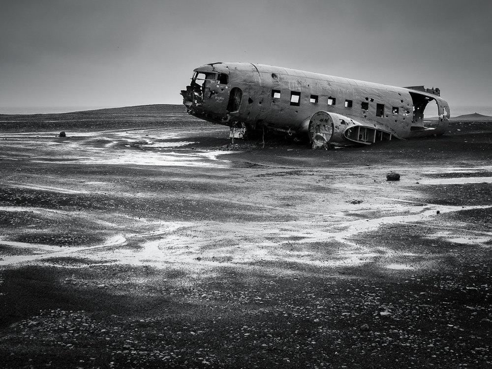 DC-3 wreck, Iceland