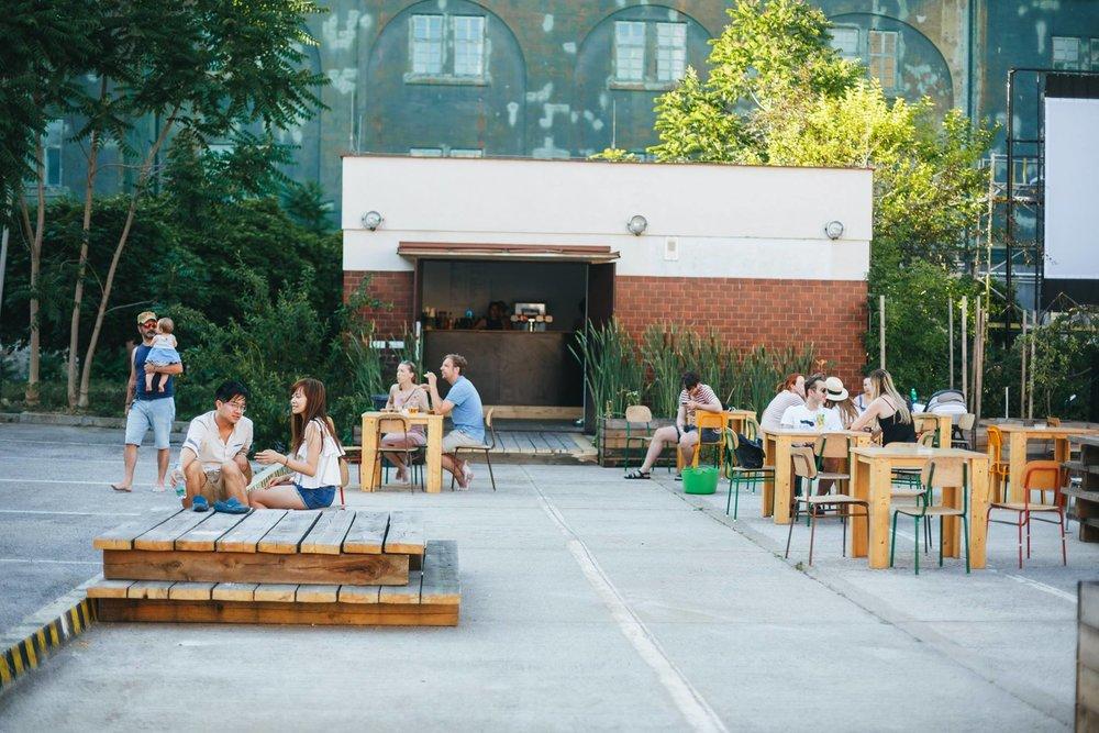 Kasarna Karlin, newly-open venue, 10 minutes walk from Manifesto