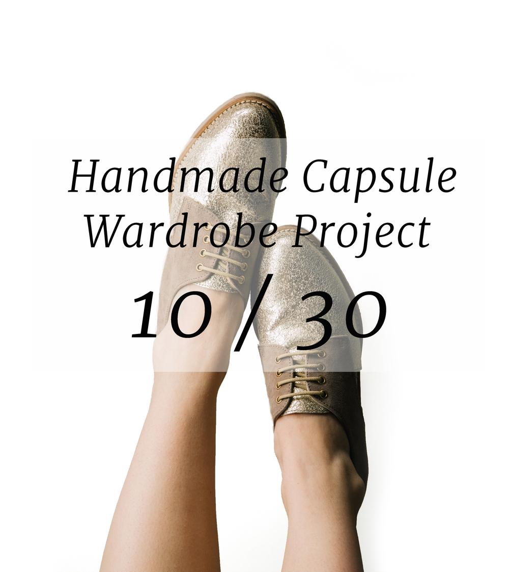 handmade capsule wardrobe project