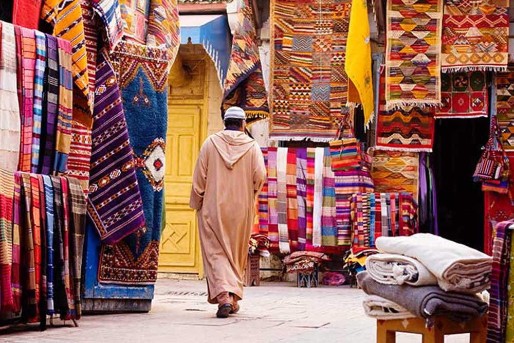 Explore the Souks of Marrakech - Arrive early and spend your day exploring the the Souks (markets) of Marrakech.Get lost, absorb the chaos, and dive into Moroccan culture as you make your way through the markets.