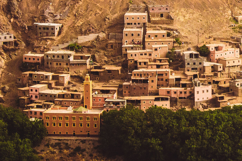 Explore the Berber Village - On the drive, we will make a few road side stops, exploring the the Moroccan countryside, including the Berber village of Ouarzazat.
