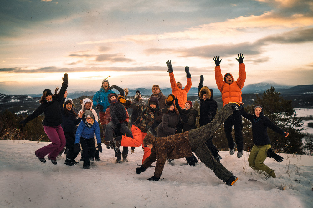 Mountain Top Sunrise Hike - In true CS fashion, we'll be kicking the morning off with a headlamp-lit hike to the top of a mountain overlooking the valley below.Mountain-top dance parties fully welcomed.