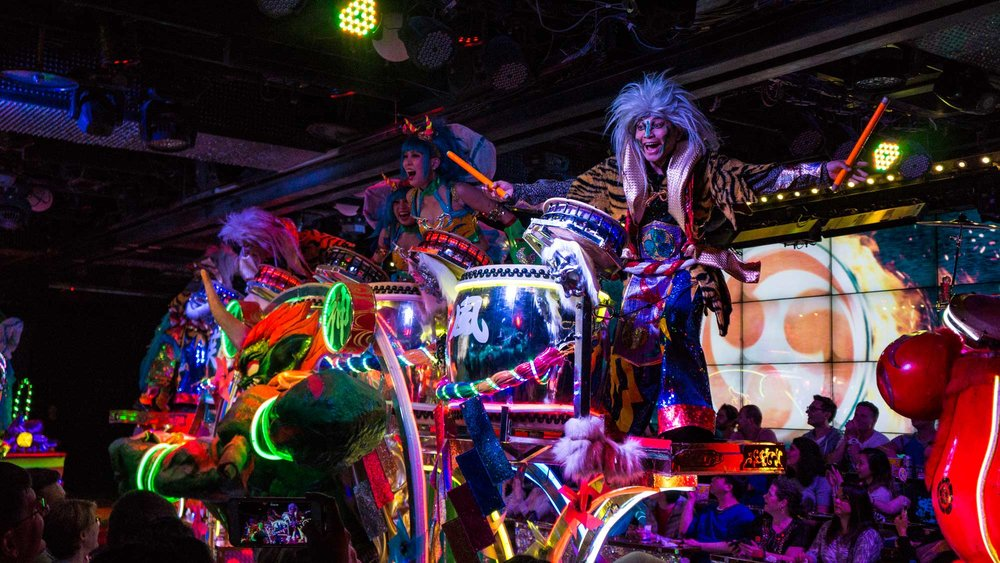 Robot Restaurant in Tokyo, the ultimate assault to your senses that you never knew you wanted.
