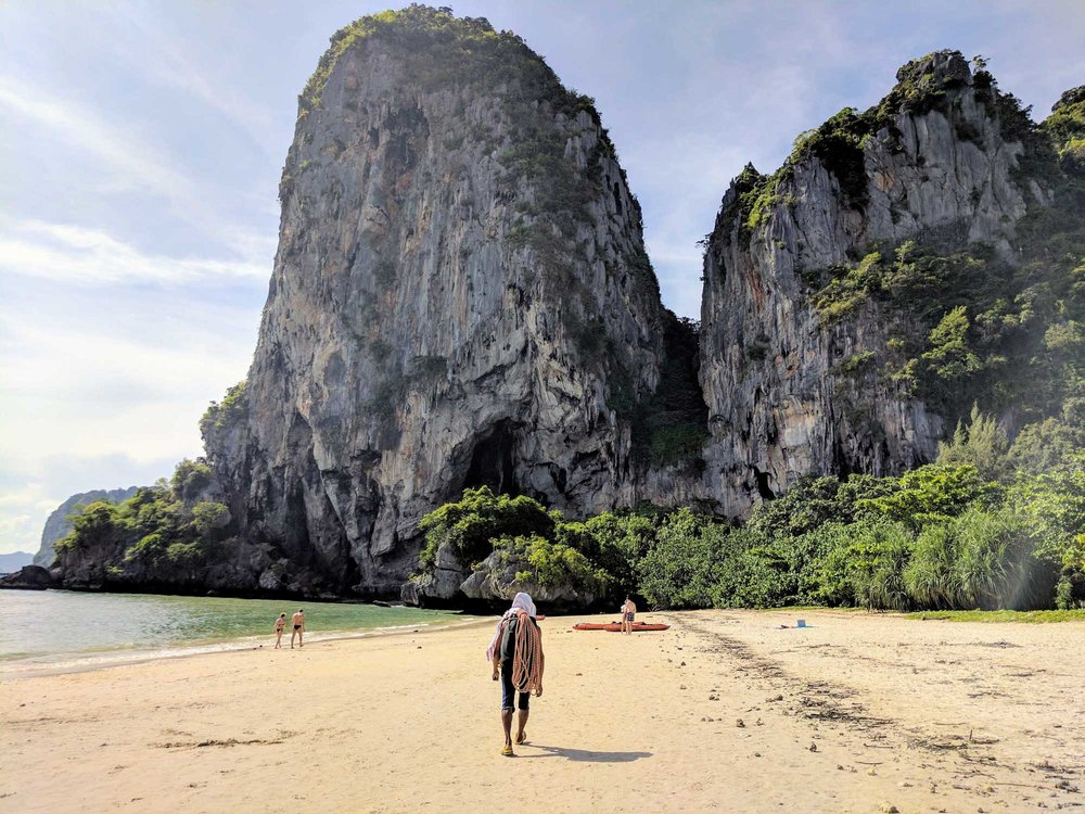 The beauty here is unreasonable. (Railey Beach, Krabi, Thailand)
