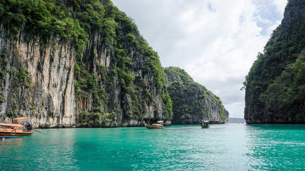 Phileh Lagoon, Phi Phi Islands, Southern Thailand