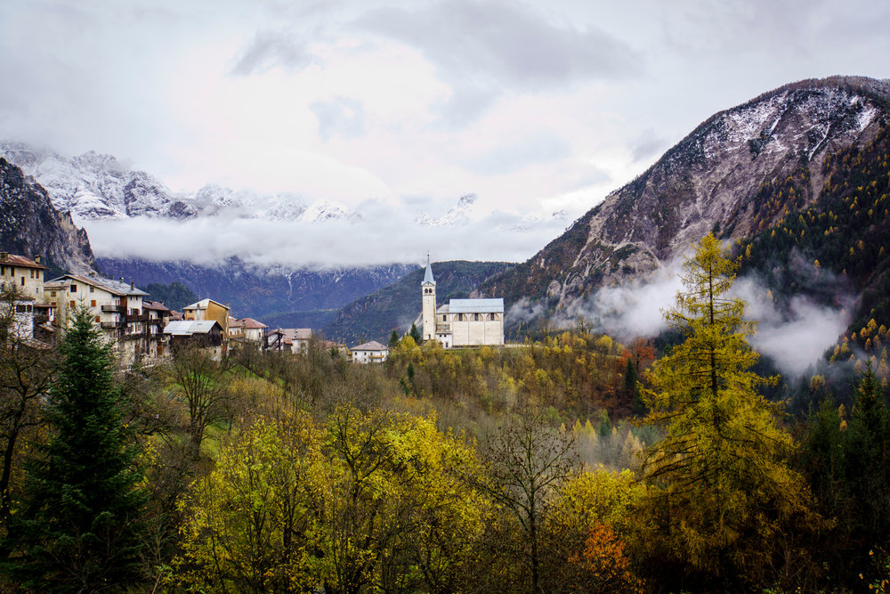 Dolomites Church