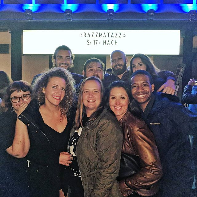 When you love your friend so much, y'all go to his country to see his favorite rapper for a long weekend. Happy birthday, @allspain you're an incredible human. Thanks for letting us celebrate you. #barcelona #razzmatazz #nachsoyyo @nachsoyyo  __ #tawneekendallmusic #indiemusic #indeartist #indiefolk #singersongwriter #womenwhorock #femaleartist #femalemusician #womenwhocreate #instamusic #nowplaying #newmusic