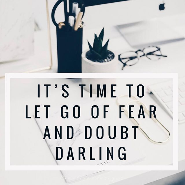 Is self-doubt and fear holding you back from accomplishing your goals? In order to move forward and step into your unique power you need to cut the cords of doubt and just go for it. Take small steps each and every day to push through the fear and step out of your comfort zone. Don't let fear stop you from doing what you love. I know how hard it is and how much of a struggle it can be but you are not alone and you WILL get through it NEVER give up on your goals 👑