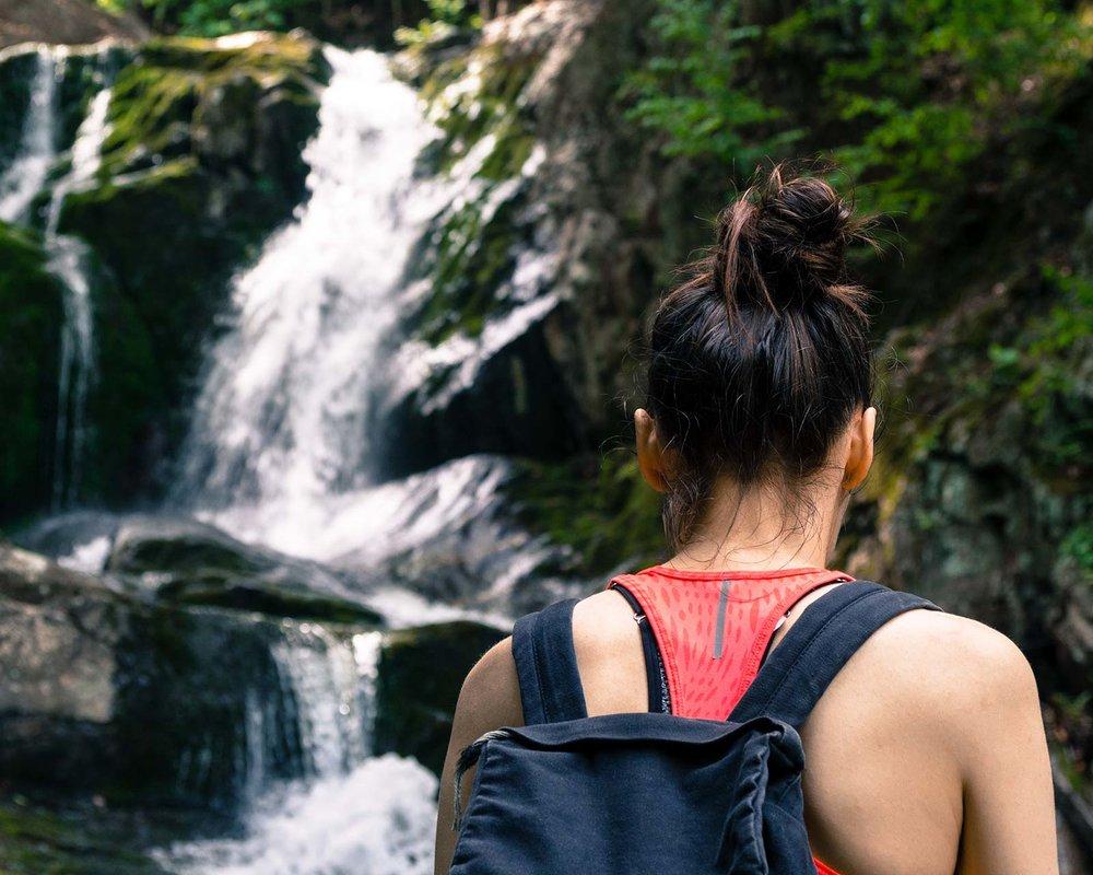 Sanderson Brook Falls