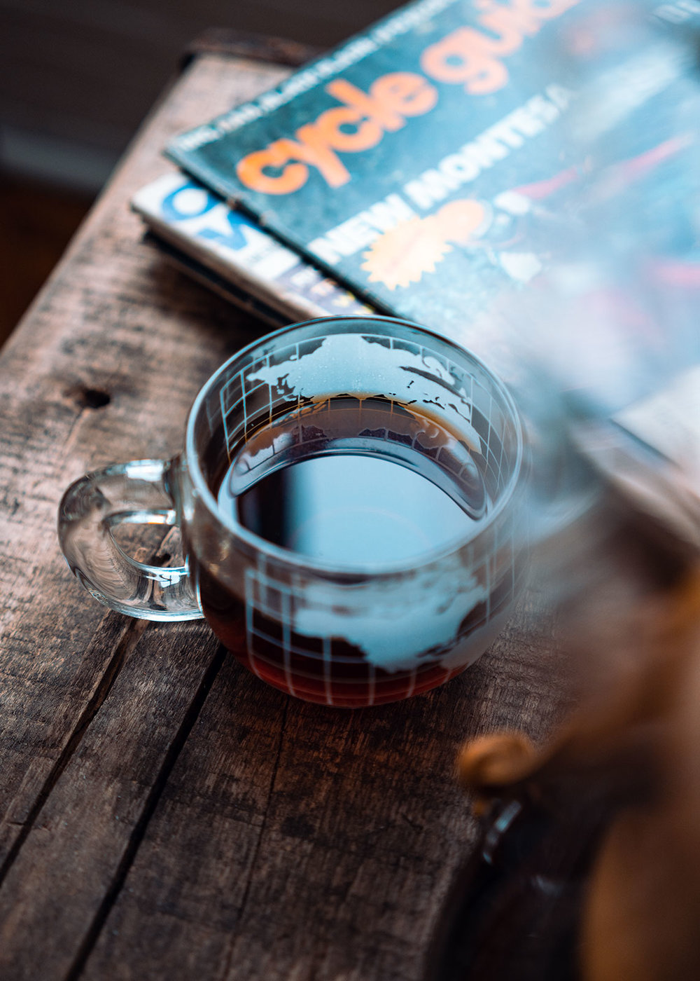 Coffee and Chemex product photography