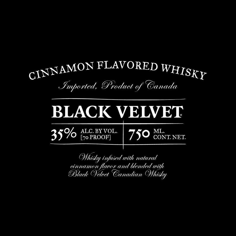 Type lockup for whisky bottle label