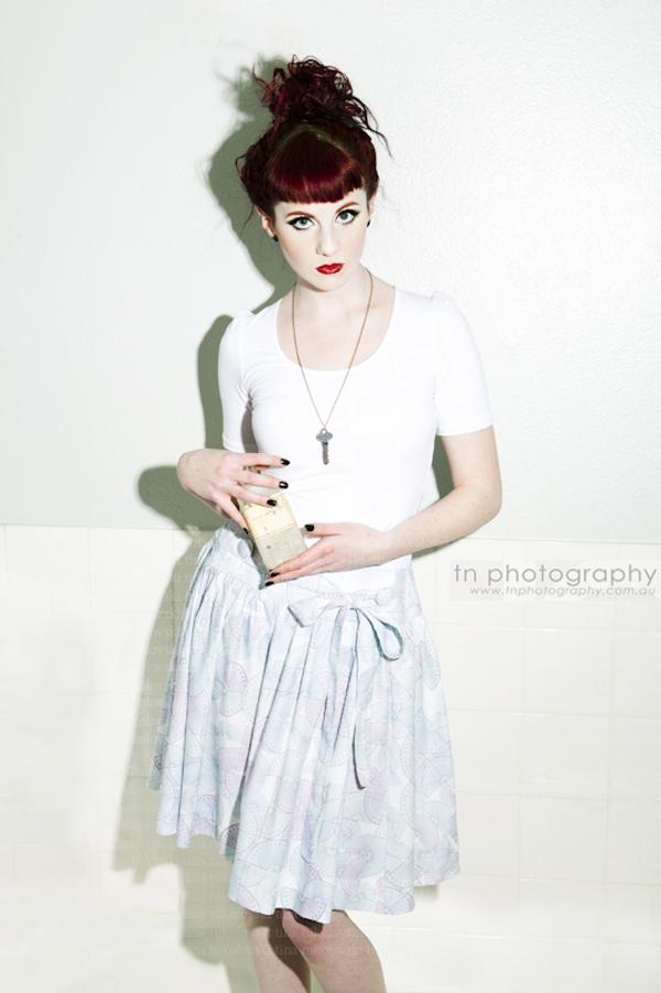 Protractor skirt