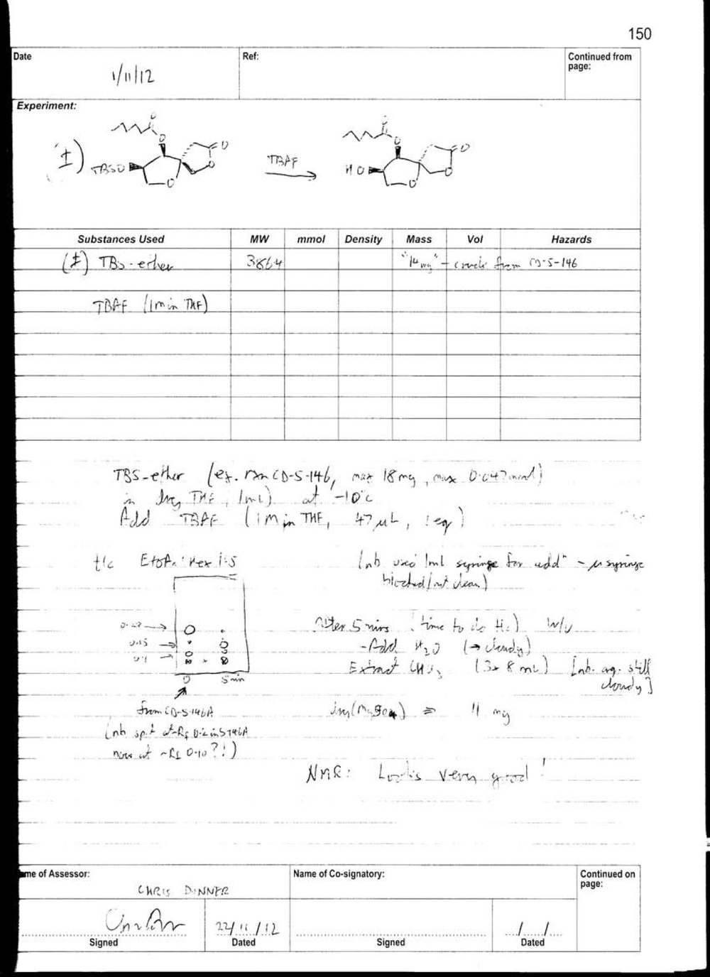 4-epi-secosyrin Labbook 1