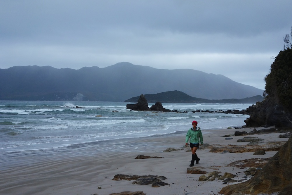 We had to leave early on Day 2 to make it to a point of the beach we had to cross at low tide