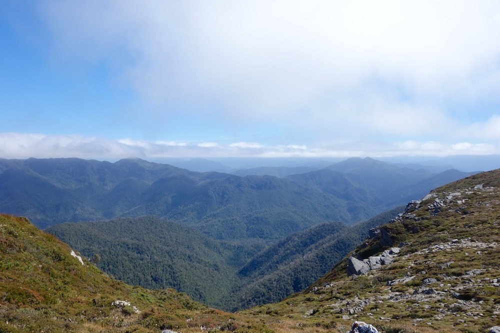 Ontop of the Iron Bound Ranges