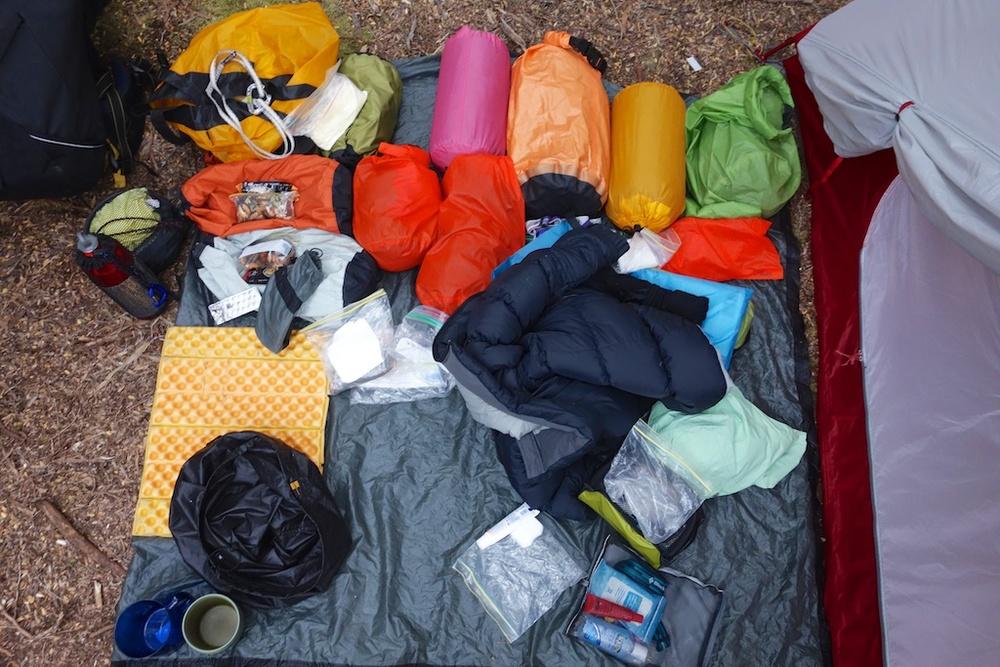 Camped at Osmiridium beach