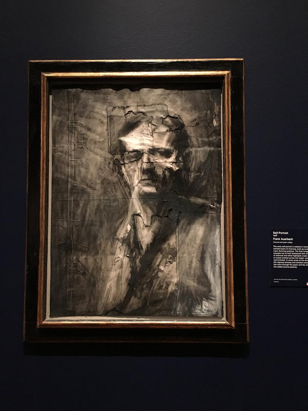 Frank Auerbach, Self Portrait