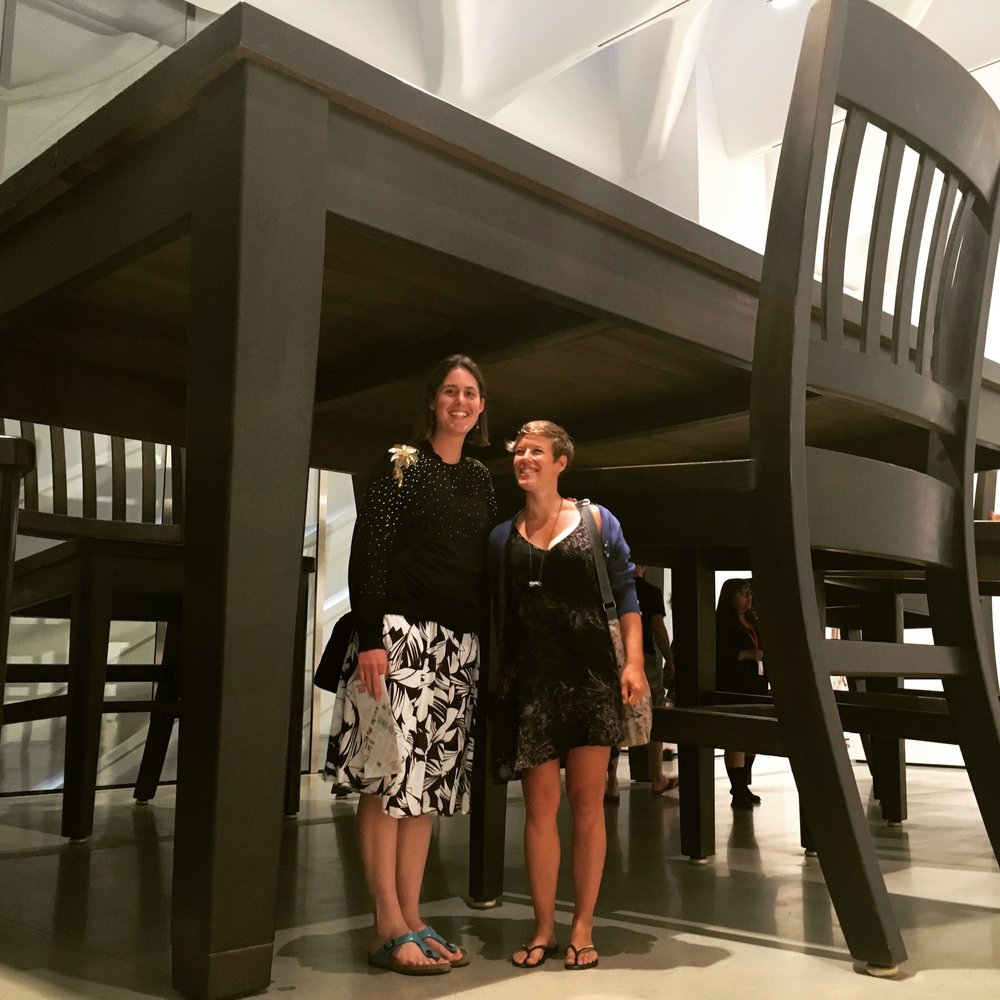 Me & Annika, Under the Table, Robert Therrien